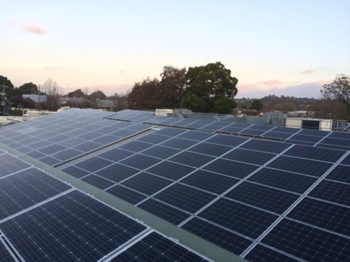 300kW solar array West Gippsland Hospital