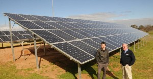 35kW solar array Macquarie Club