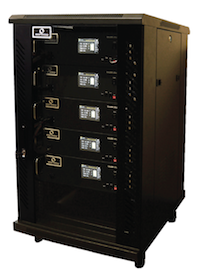 360Storage City Solution battery cabinet