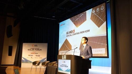 Post image for New LONGi 430W panel unveiled in Australia