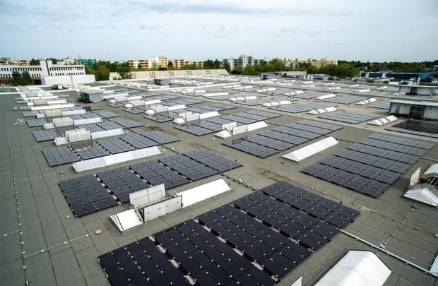 600kW hybrid solar pv CHP energy storage system Germany