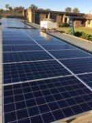 60kW solar array Robinson Community College