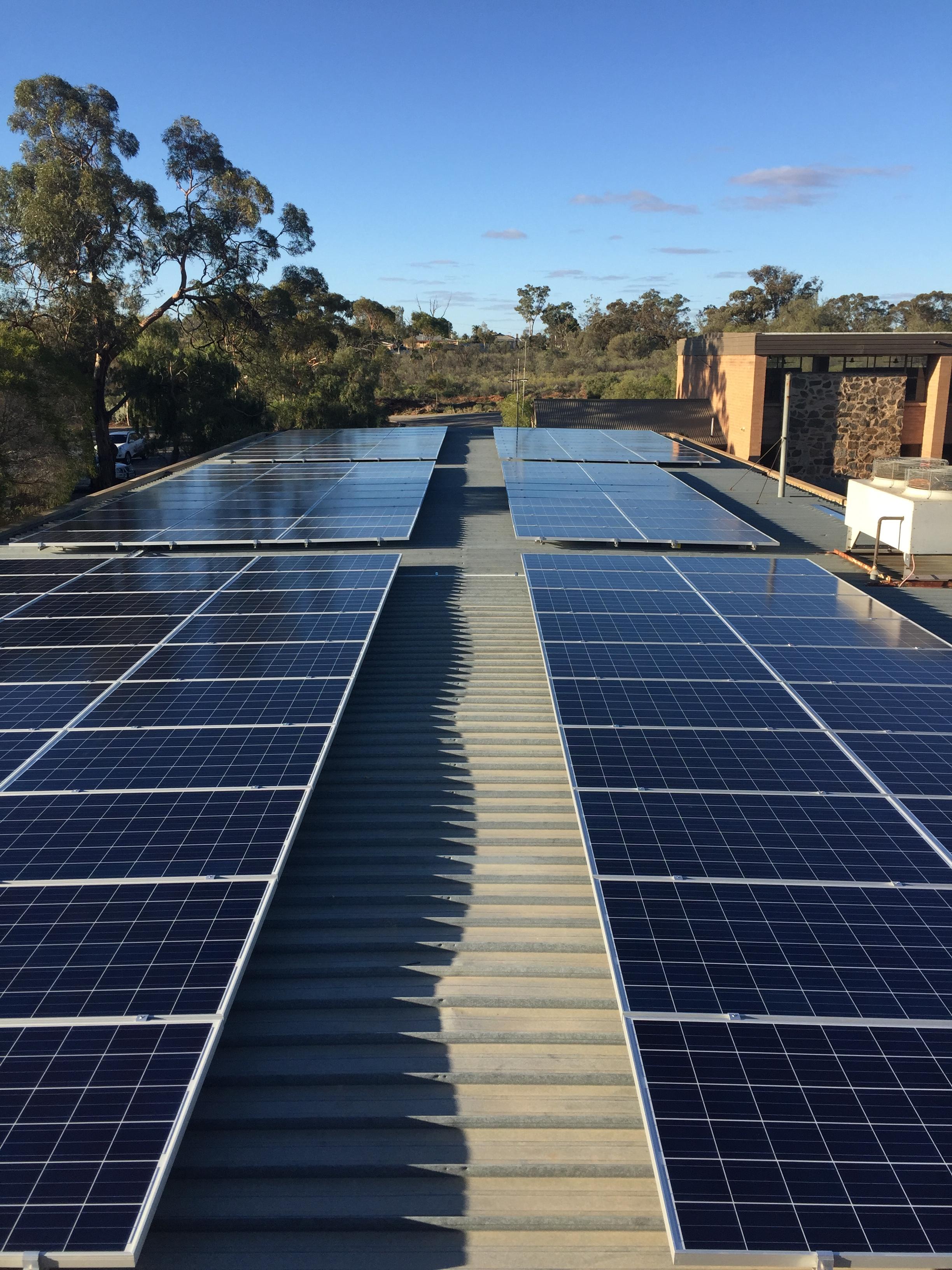 60kW solar Robinsons Community College 2