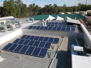 99kW solar system Clubs NSW