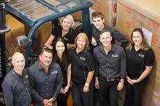 AC solar warehouse team