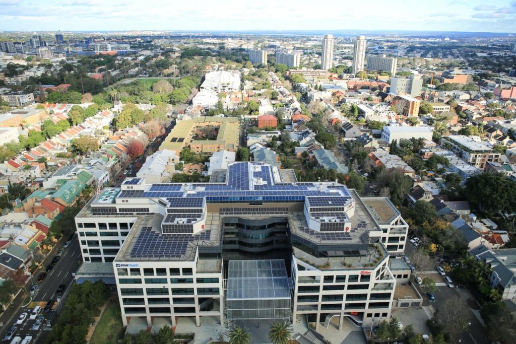 AustraliaPost NSW Head Office_284kWp_NSW