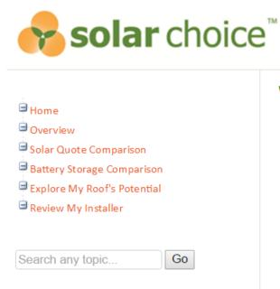 Battery storage comparison and solar comparison