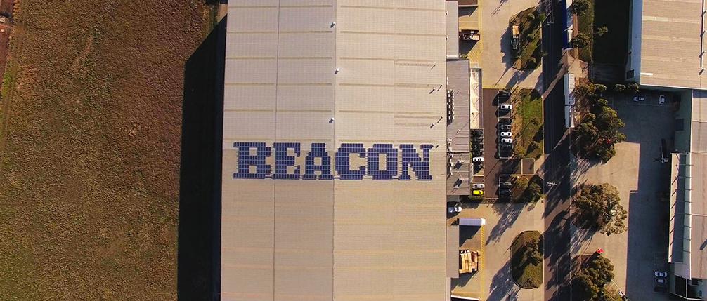 Beacon Seraphim Solar Panel Array