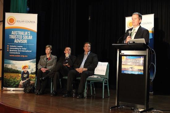 Bill Shorten Save Solar Community Forum
