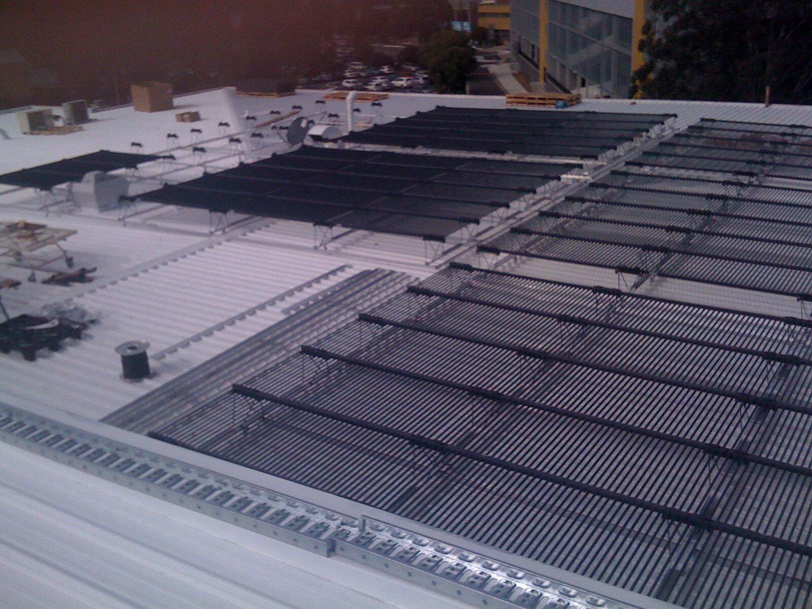 Blacktown RSL Solyndra Solar installation