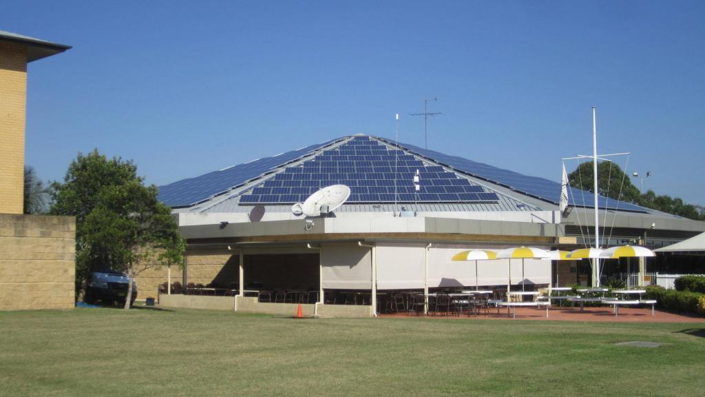 Blacktown Sports Club 99kW solar PV system