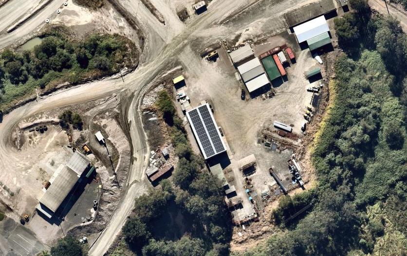 Bracalba Quarry 50kW Solar PV System