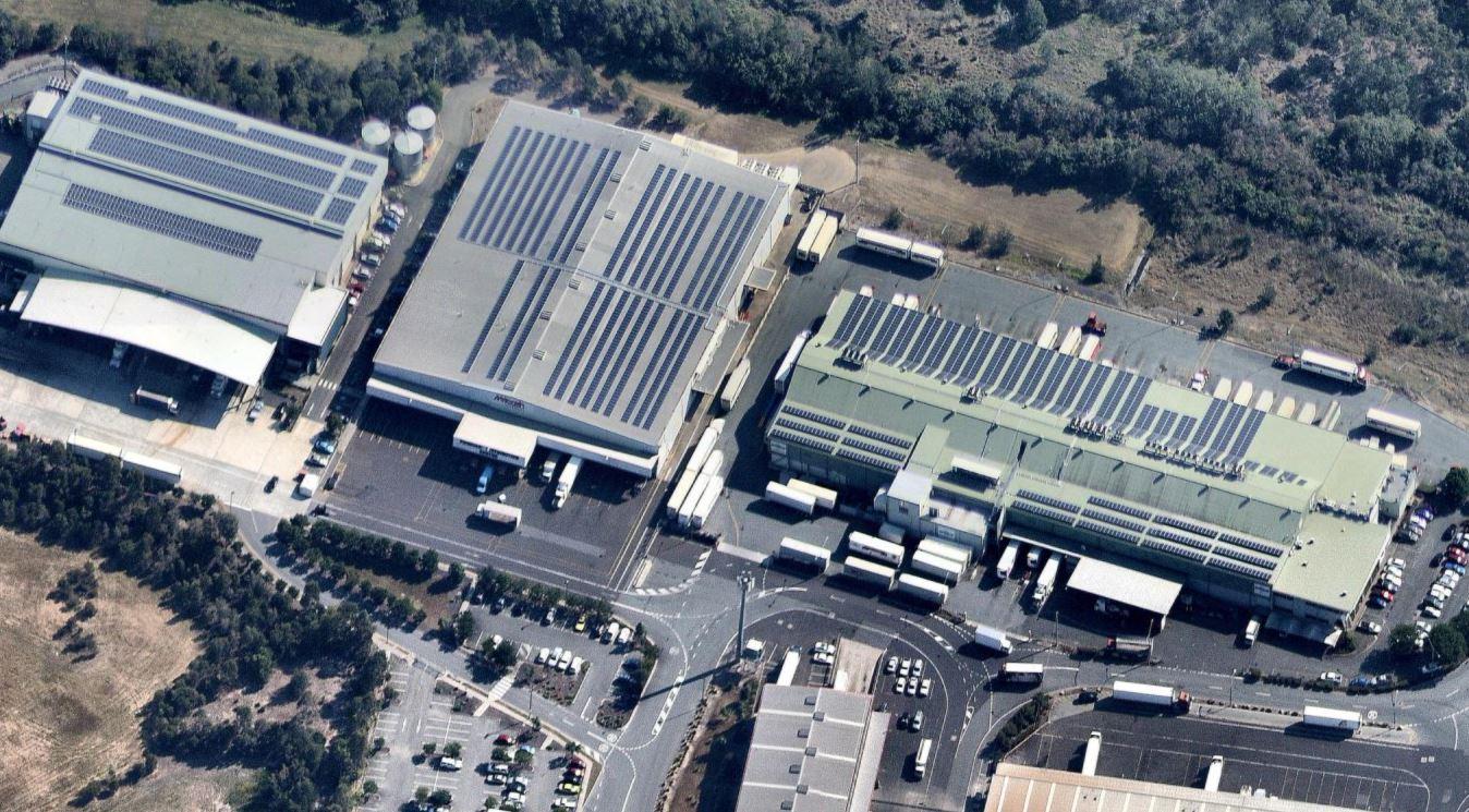 Brisbane markets 1MW Solar power installation