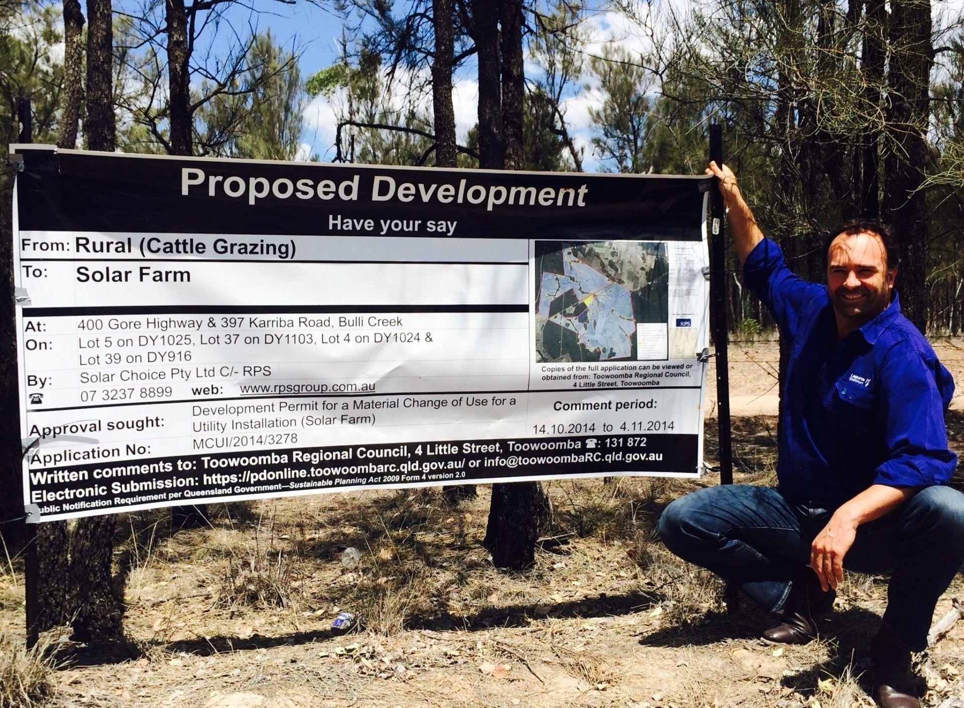 Bulli Creek Development proposal DA pic