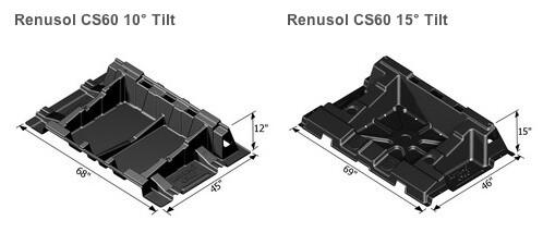 CS60 10-degree 15-degree angle units