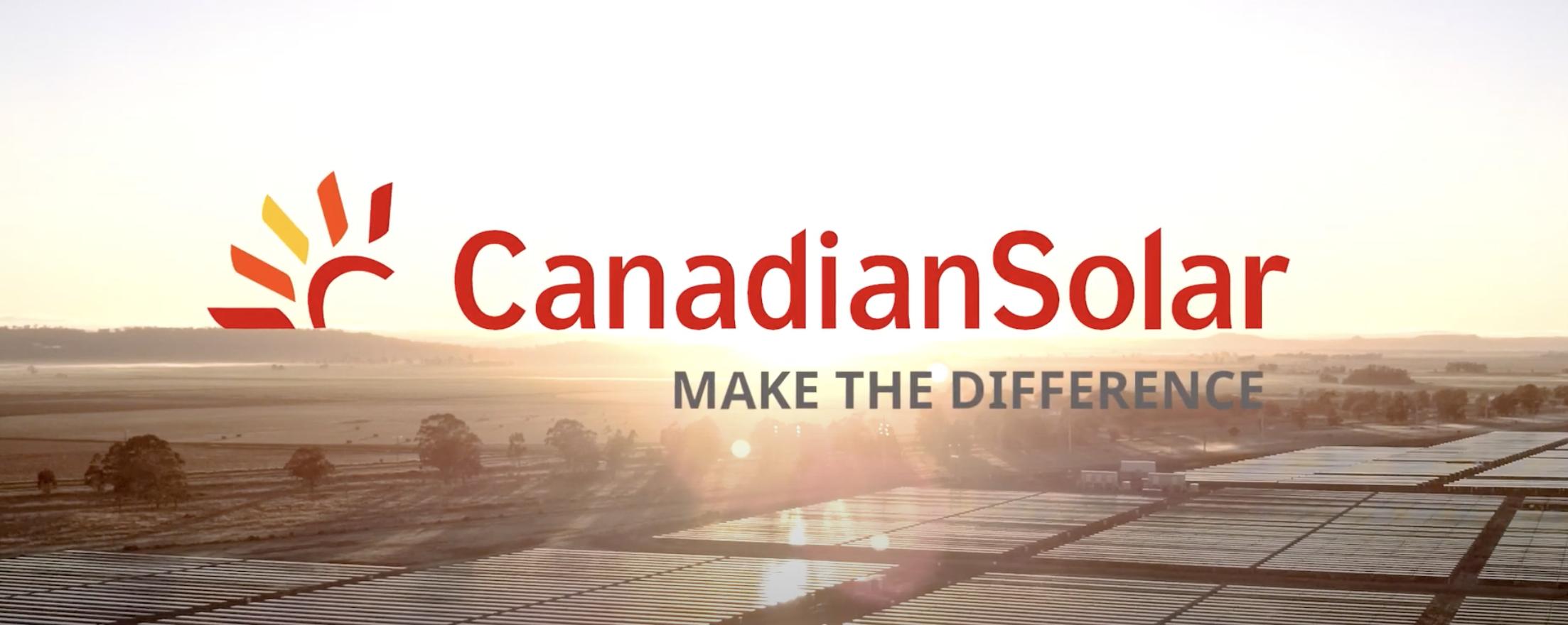 Canadian Solar Banner