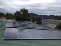 Cawarra Cosmetics solar array