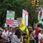 Climate March commit to RE