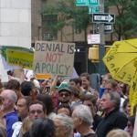 Climate March denial not a policy
