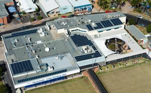 Club Sapphire Merimbula NSW 95kW solar system