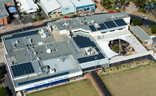 Club Sapphire 94.75kW solar PV system