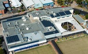 Club Sapphire Merimbula NSW 95kW solar array