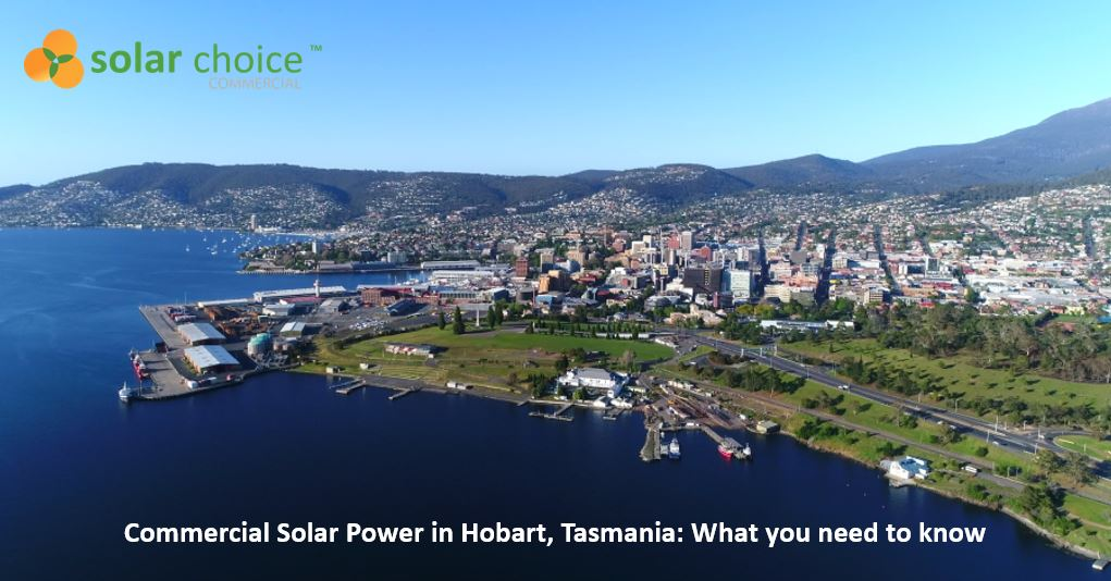 Commercial Solar Power Hobart - banner image