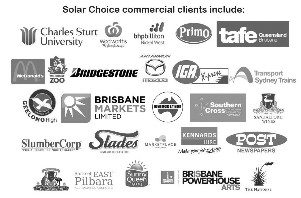 Solar Choice Clients