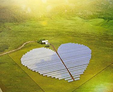 Conergy New Caledonia solar heart