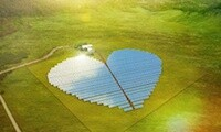 Conergy solar heart