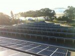 Solar in Clubs - installed panels at Crescent Head