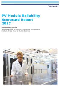 DNV GL Reliability Scorecard