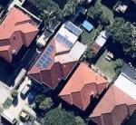 David Tesla Powerwall solar system aerial shot 2