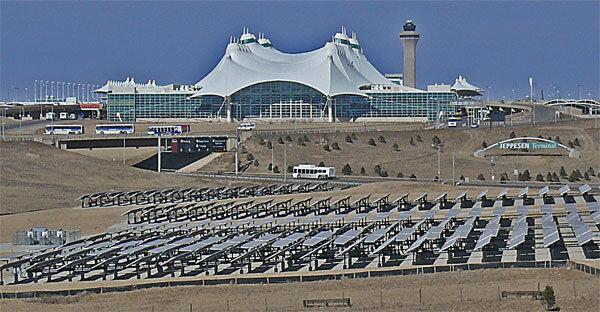 Denver International Airport solar PV arrays