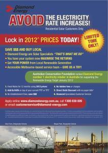 Diamond Energy - Fixed Rate Brochure