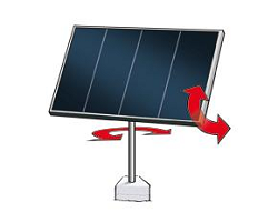 Dual Access Solar Tracking