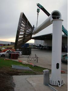 Eco Whisper Turbine folded