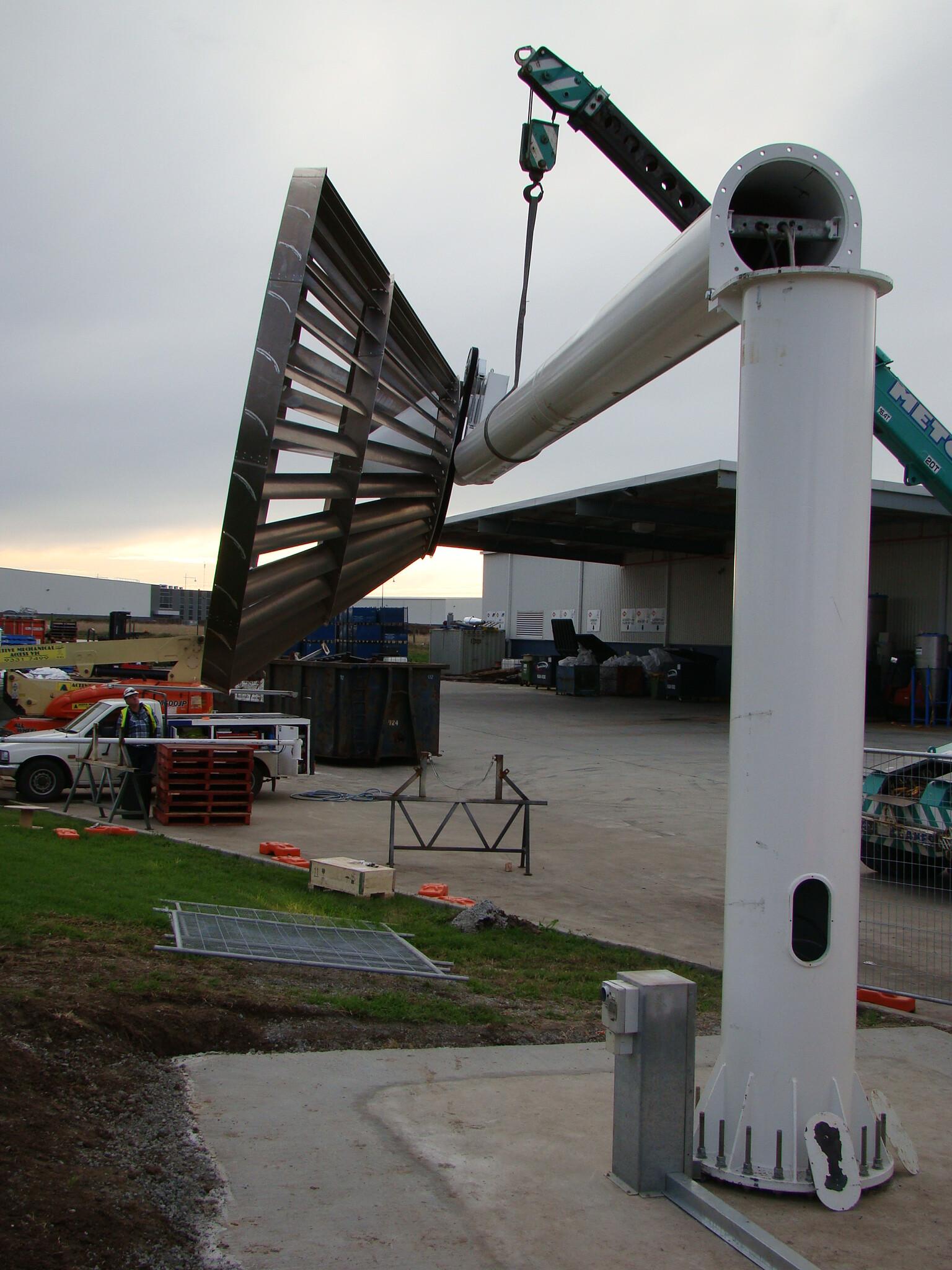 Eco Whisper Turbine: Australian-made, small-scale wind power
