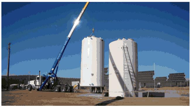EnerVault Construction