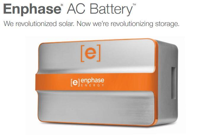 Enphase Energy Battery