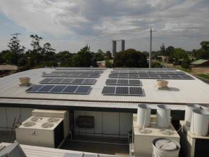 Euston Bowling Club 100kW solar PV installation