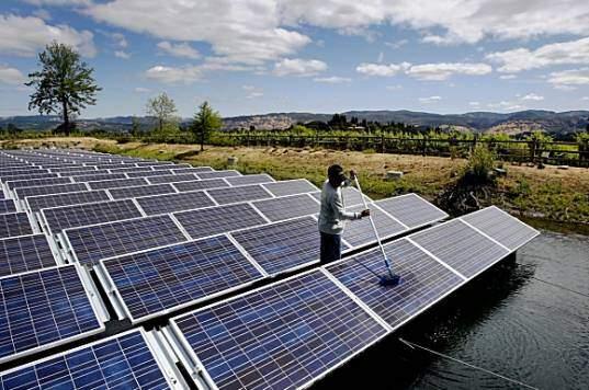 Floating Solar Power Floatovoltaics Liquid Solar Arrays