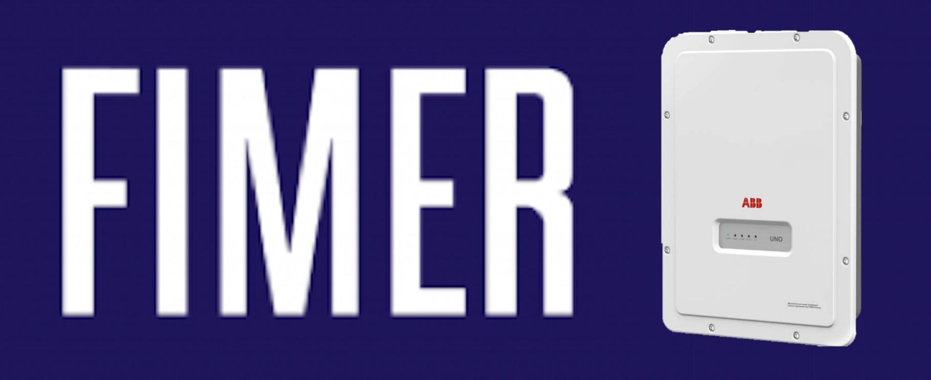 Fimer Inverter Banner