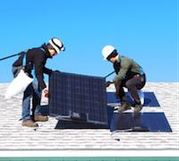 Fraunhofer 1-hour solar installation