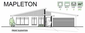 GHA Mapleton home plan