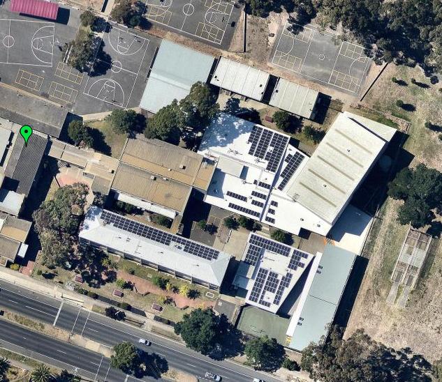 Geelong High School Solar Array 2