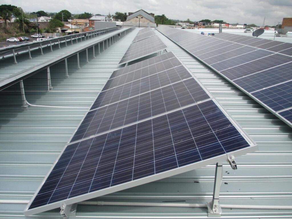50kW solar array on Grafton Library, Grafton, NSW