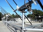HST Solar ground-mounting and dual-axis tracking frame
