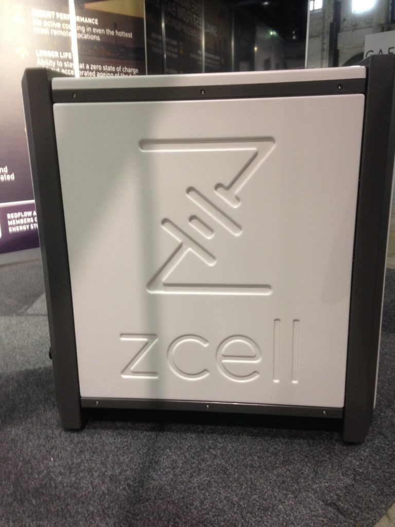 Redflow's ZCell residential zinc-bromide flow battery.