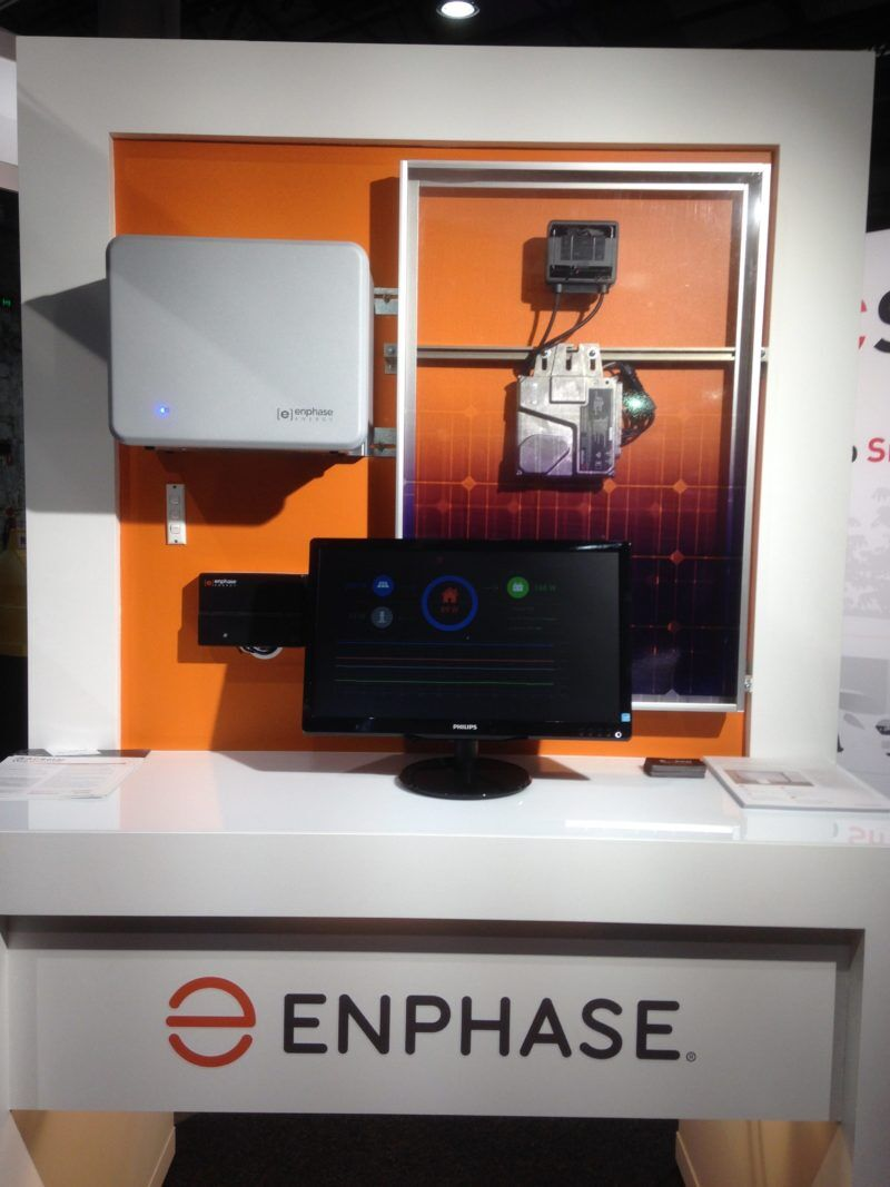 Enphase's AC Battery (at AC Solar Warehouse's stall)